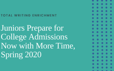 Juniors Prepare for College Admissions During These Uncertain Times