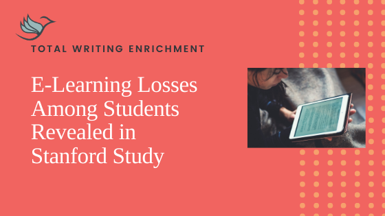 E-Learning Losses Among Students Revealed in Stanford Study