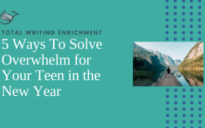 5 Ways To Solve Overwhelm for Your Teen in the New Year
