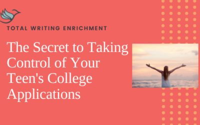 The Secret to Taking Control of Your Teen's College Applications