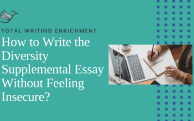 How to Write the Diversity Supplemental Essay Without Feeling Insecure?