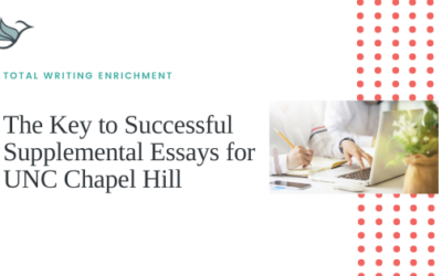 The Key to Successful Supplemental Essays for UNC Chapel Hill