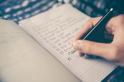 summer college application checklist